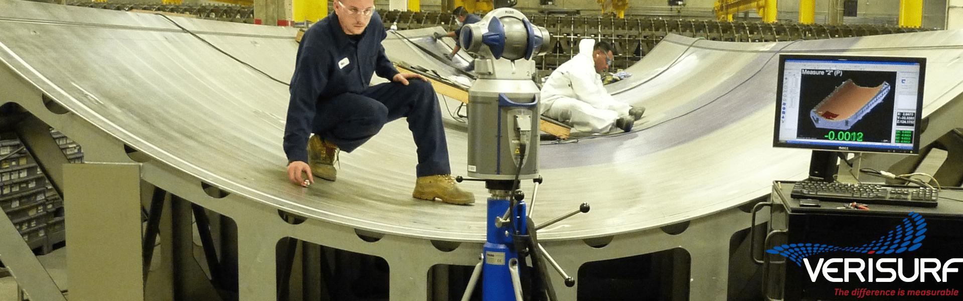 Verisurf laserski sledilec - tracker
