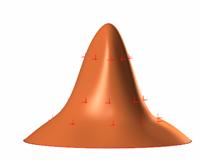 Curve point weight - utež točk in krivulj 3