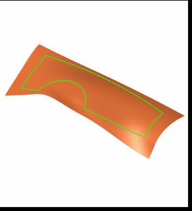Extend surface - Podaljšaj površino 1