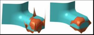 Extend surface - podaljšaj površino