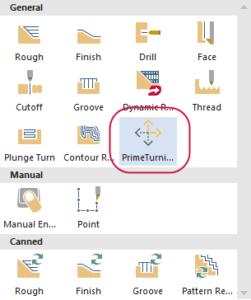 Mastercam Lathe - struženje PrimeTurning