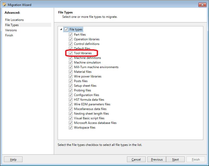 tipi datotek