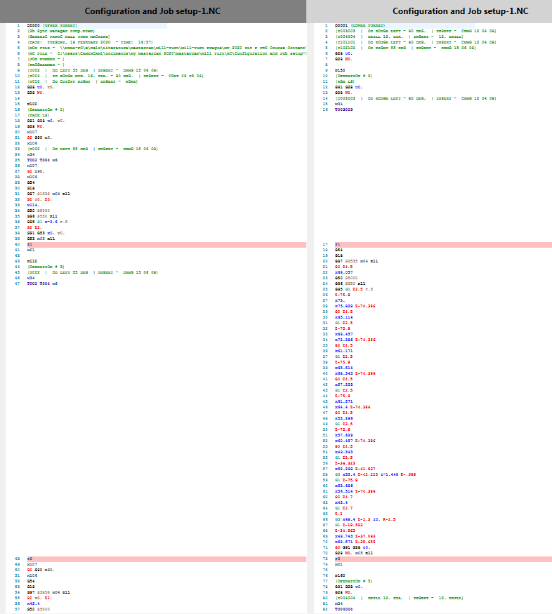 Sinhronizacijske točke v NC kodi