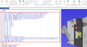 Skeniranje vhodnih podatkov - CIMCO NC Machine Simulation