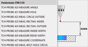 CIMCO probing Mastercam tipanje tipalo merjenje